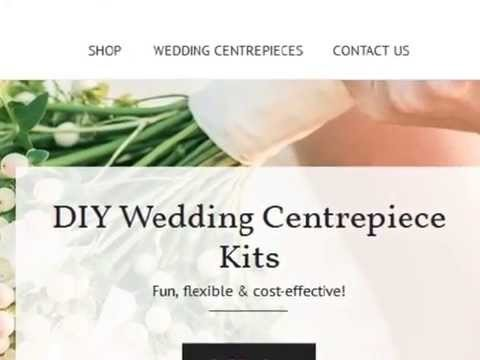 DIY - How To Set Up A Garden Bird Cage Inspired Wedding Centrepiece or Party Table Decoration