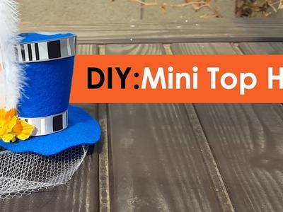 DIY Mini Top Hat - No patterns!