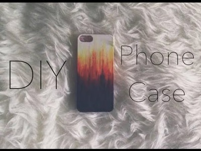DIY: PHONE CASE for HALLOWEEN  ♥