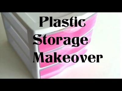 {DIY} Quick Storage Decor