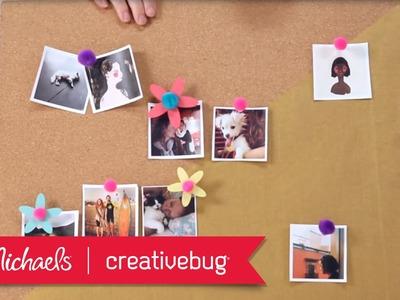 DIY Room Décor: Color-Blocked Bulletin Board   Mini Project Class   Michaels & Creativebug