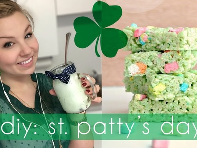 DIY St. Patty's Party ♡ Treats!