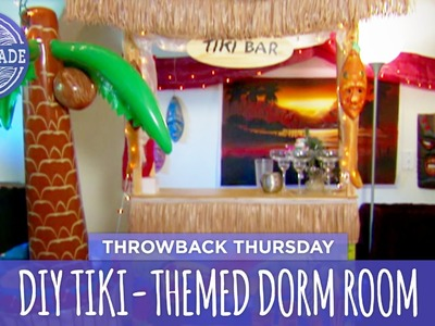 DIY Tiki-Themed Dorm Room - Throwback Thursday - HGTV Handmade