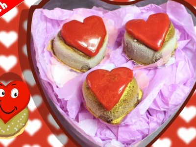 DIY Valentine's Day Treats & Gift Ideas | Homemade Chocolate Hearts | Schokoladenherzen