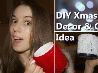 DIY Xmas Decoration + Gift Idea | Božična dekoracija [ENG subs] | Tjaša Deu