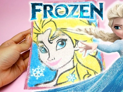 FROZEN Elsa - DIY Sand Art Playset