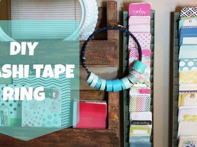 Help Mama Craft: DIY Washi Tape Ring