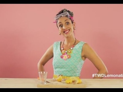Here's why Suzelle DIY downed a glass of pure lemon juice!