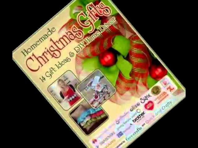 Homemade Christmas Gifts 14 Gift Ideas  DIY Home Decor