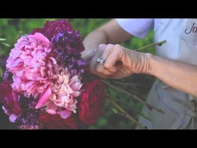 How to make a floral arrangement | DIY flower bouquet | Jordan Winery