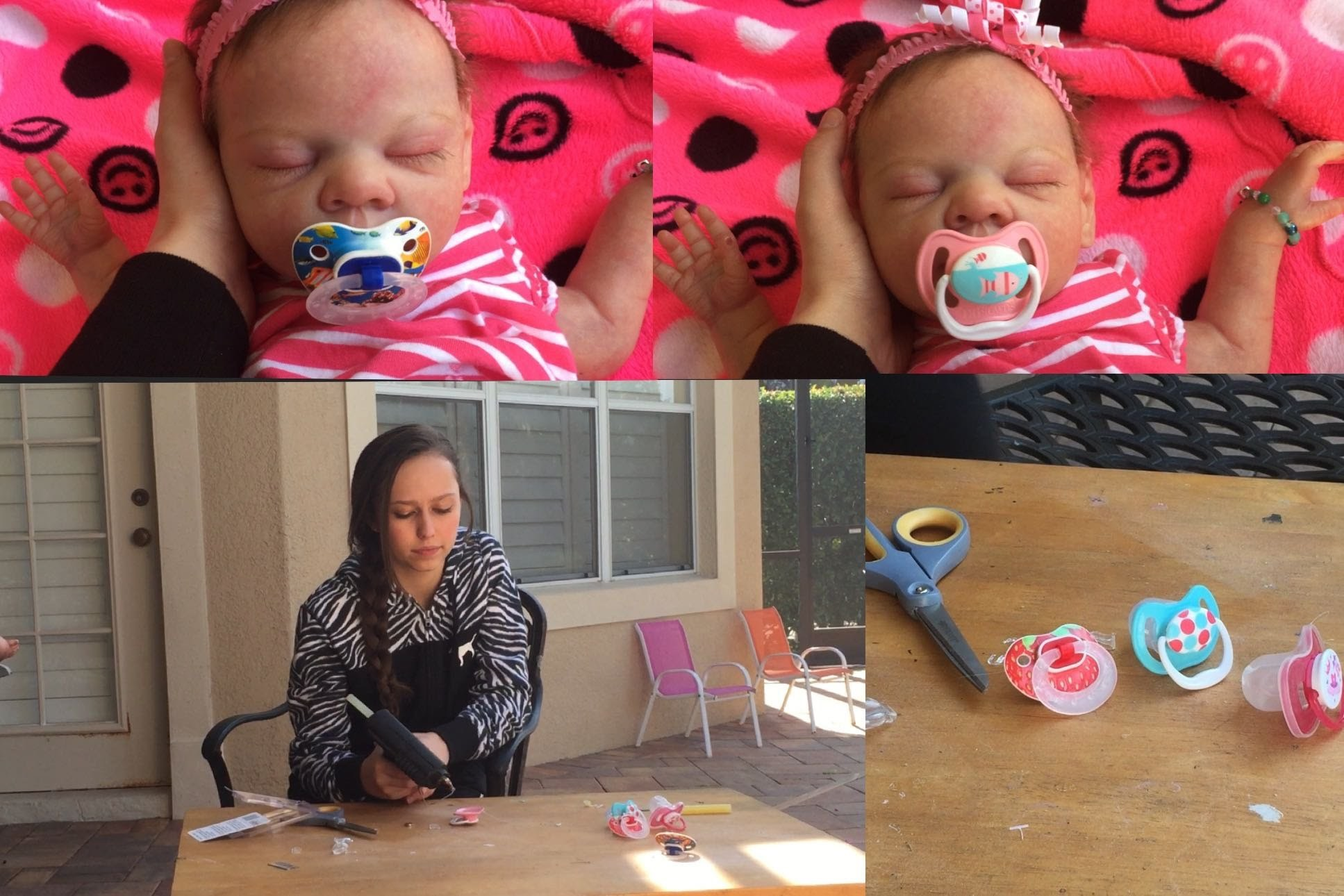 ***How to make a pacifier for your reborn baby doll!*** (DIY)