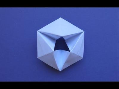 How to make a paper moving flexagon!!