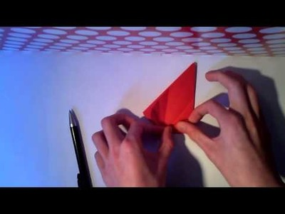How to make an easy origami octopus without cuts (designed by Paper Benni) part1 of2
