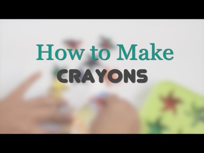 How to Make Star Crayons - DIY