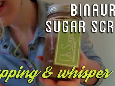 Let's make Sugar Scrub together! ♥ Binaural ♥ ASMR ♥ Tapping Sounds ♥ Whispered DIY