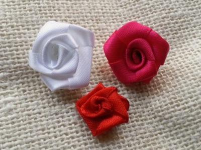 Make a Cute Ribbon Rose - DIY Crafts - Guidecentral