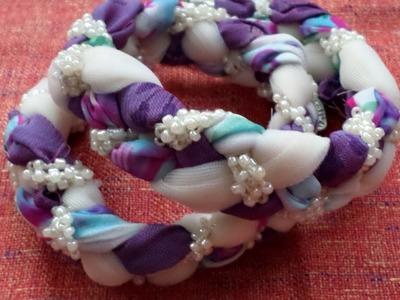 Make a Fun Braided Fabric Bracelet - DIY Style - Guidecentral