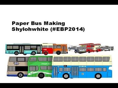 Paper Bus Making