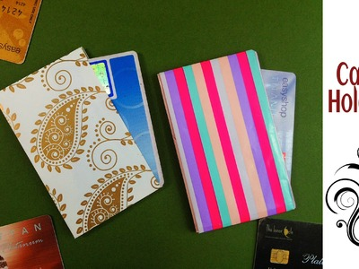 Useful Origami - Paper Credit Card. Business Card Holder - 2 (Easy to make)