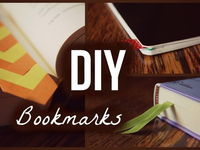 3 Easy DIY Bookmarks