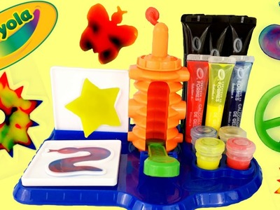 CRAYOLA CLING CREATOR Play Kit | DIY Craft Make Cling Molds for Windows | Colorful Fun