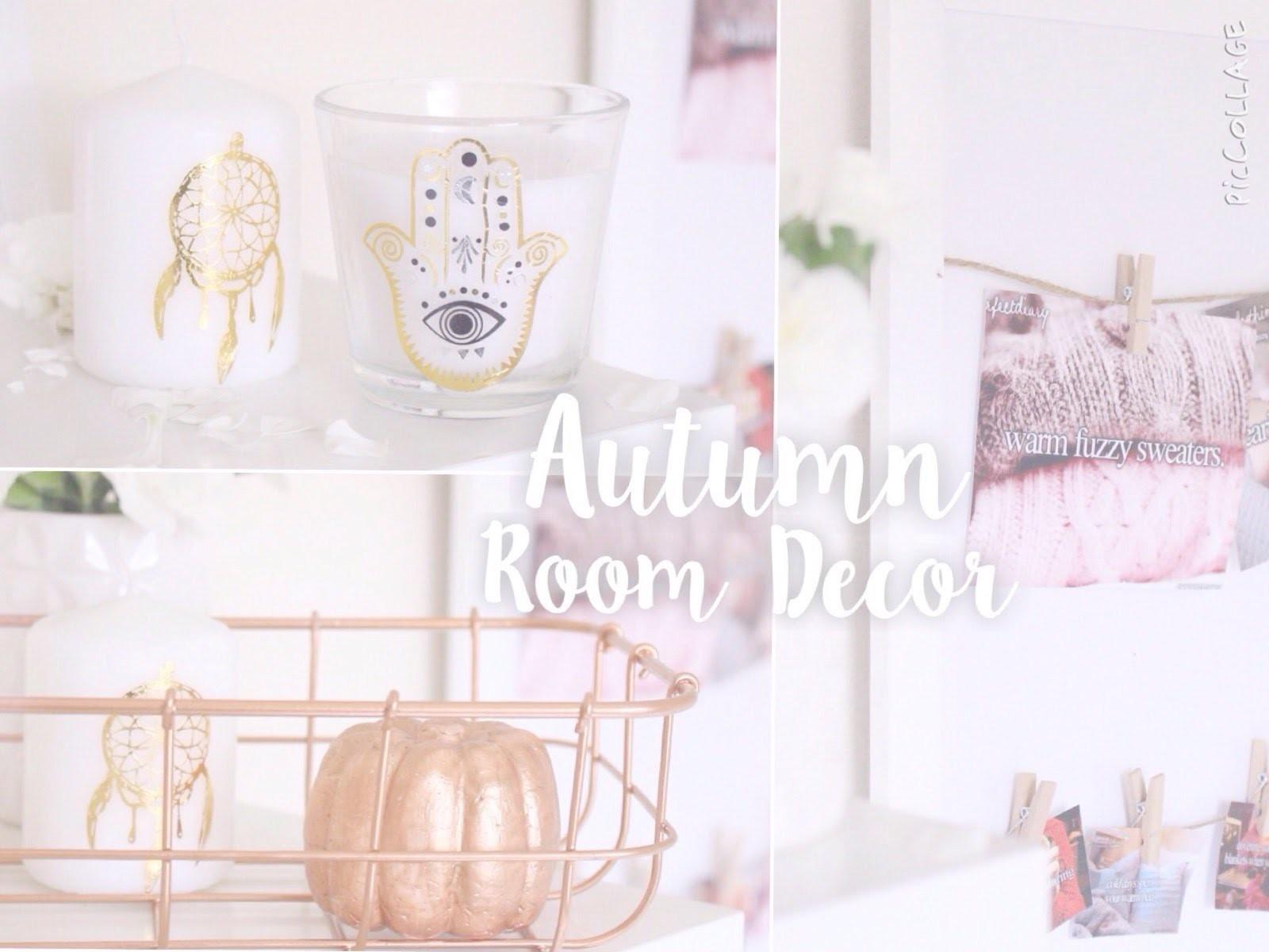 ♡DIY Autumn Room Decor! Easy & Cheap! | Floral Princess♡