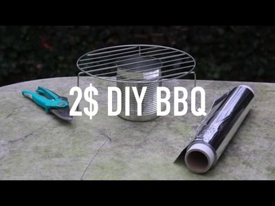 DIY: BBQ OUT OF A CAN
