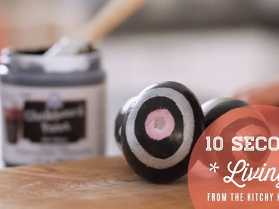 DIY Chalk Painted Easter Eggs. 10 Second Living