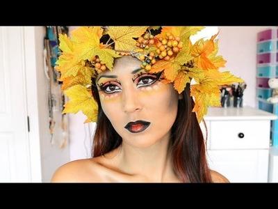 DIY Fall Flower Crown - ShelingBeauty