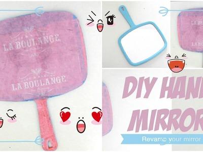✂ DIY Hand Mirror.Revamp your old mirror
