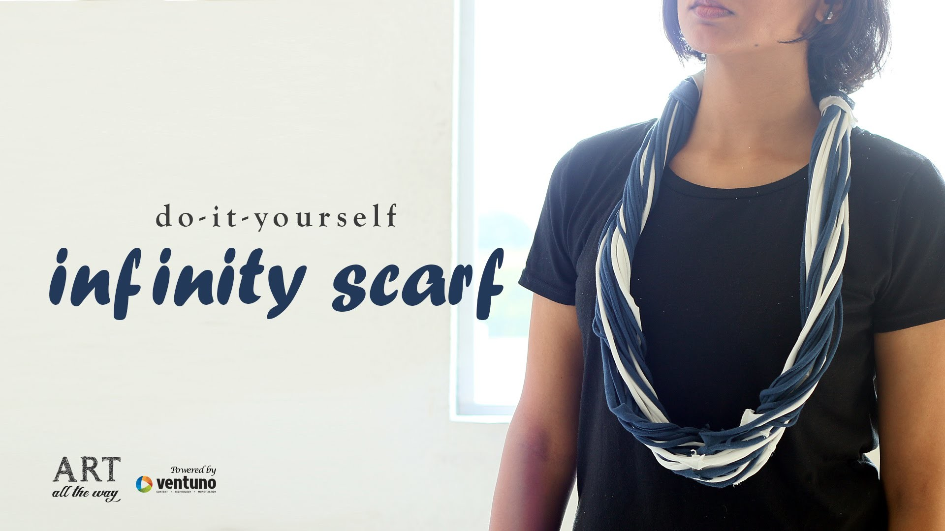 DIY : How to Make Infinity Scarf