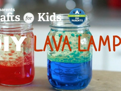 DIY Lava Lamp | Crafts for Kids | PBS Parents
