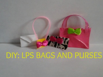 DIY: LPS Bags and Purses