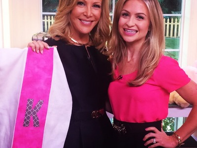 DIY No Sew Burp Cloths on The Hallmark Channel's Home and Family