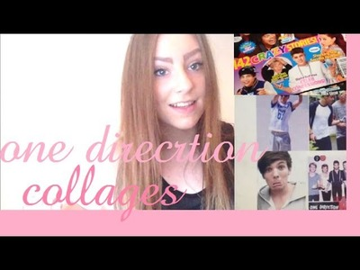 DIY One Direction Collages From Scratch