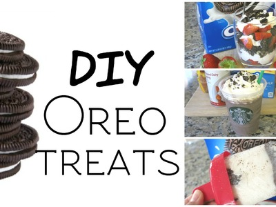 DIY Oreo Treats