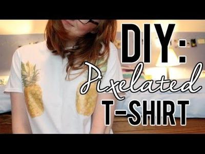 DIY | Pixelated T-Shirt