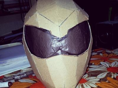 #DIY Power Rangers Mask Helmet - Part 1