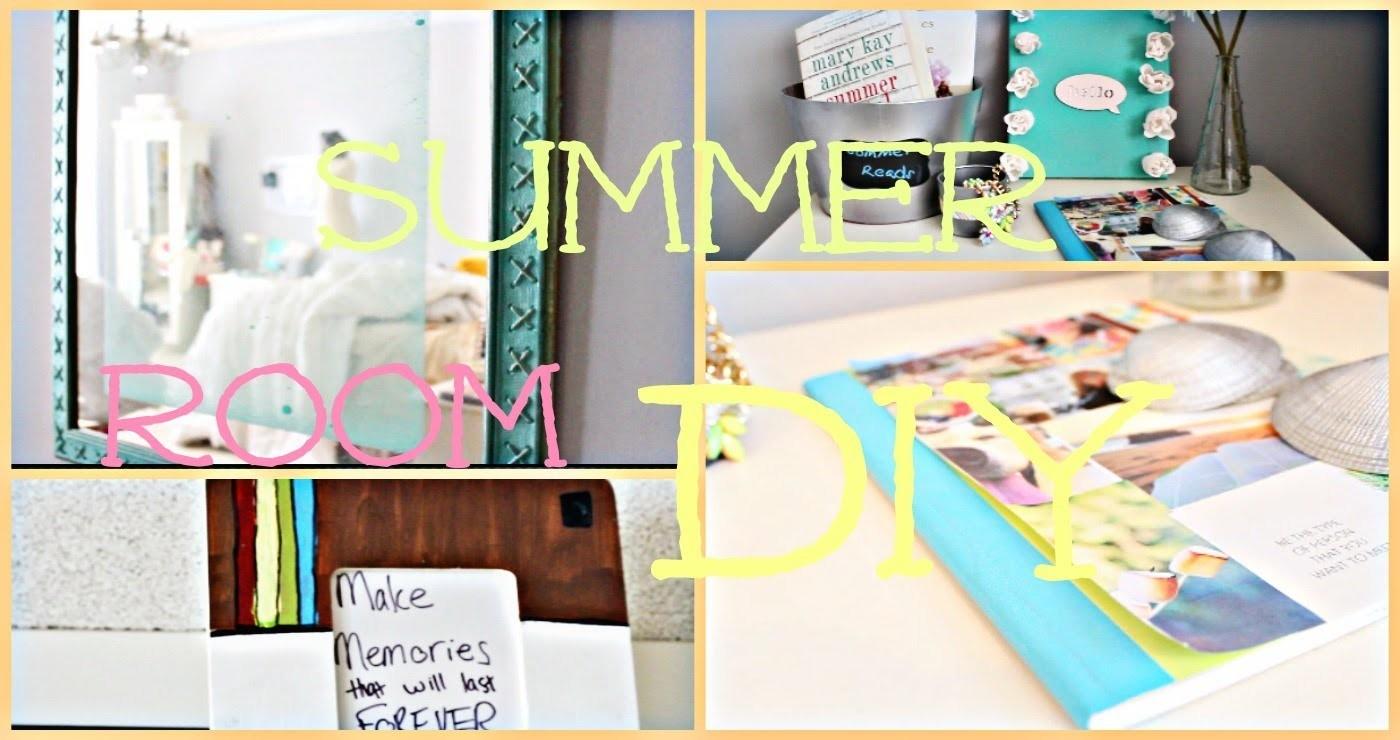 DIY Summer Room Decor ☀