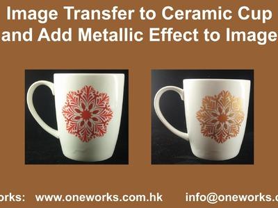 DIY Transfer Image to Ceramic Surface II