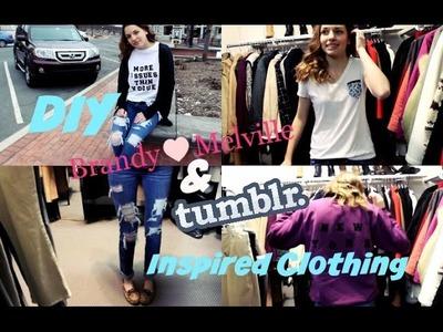 DIY Tumblr.Brandy Melville Inspired Clothing