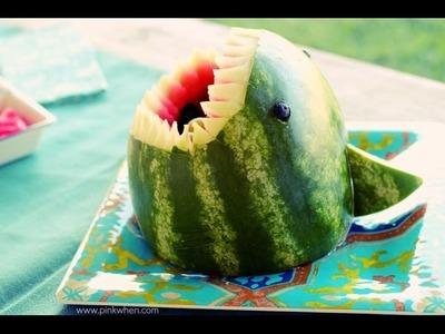 DIY Watermelon Shark