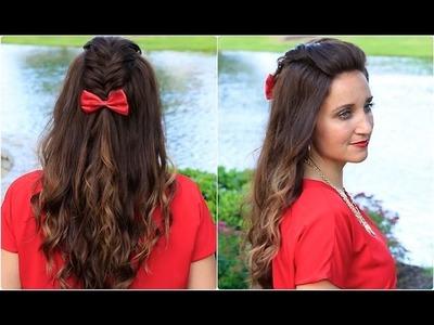 DIY Woven Faux Hawk | Cute Girls Hairstyles