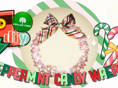 Dollar Tree DIY! $4 Edible Holiday Wreath!