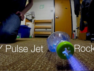 Easy DIY Pulse Jet Rockets
