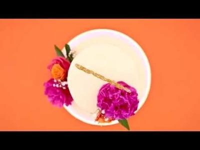 Elmer's CraftBond Hot Glue DIY Inspiration – Wedding Cake Topper