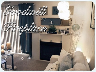 Goodwill Fireplace | D.I.Y Makeover