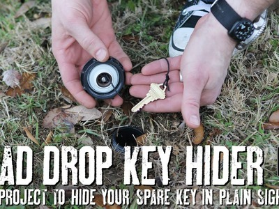 Hide your Spare Key Like a Spy with this DIY Dead Drop Key Hider