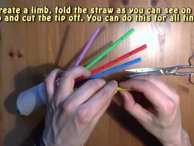 Homemade robot hand - Amazing DIY