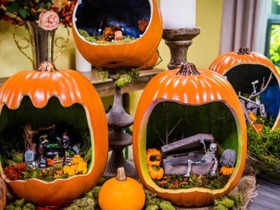 How to Make a DIY Pumpkin Die-Orama